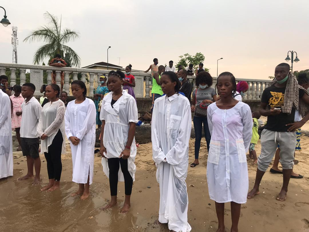 Tuvimos un bautismo en el último sábado 16 de febrero de 2021